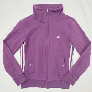 High Collar Full Zip Athletic Runners Jacket S
